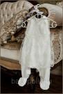 Полукомбинезон с юбочкой нарядный для девочки