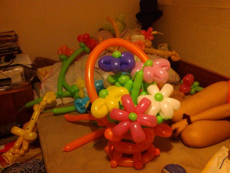 мои работы шарики