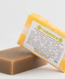 Мыло шампунь Горчица и листья берёзы 95 гр