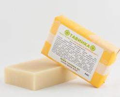 Мыло шампунь Ромашка и липовый цвет 95 гр