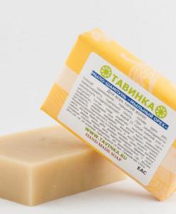 Мыло шампунь Мыльный орех 95 гр