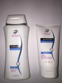 Набор для волос Питательный шампунь + бальзам Плазан